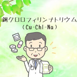 【銅クロロフィリンナトリウムの効果と副作用】口臭に効く!?