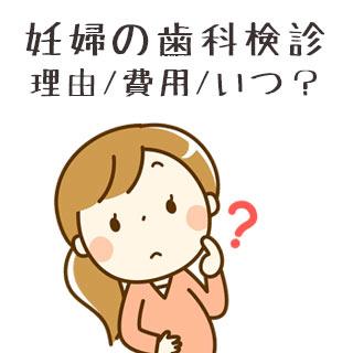 妊婦歯科検診を受けるべき理由/費用の相場/いつ受ける?
