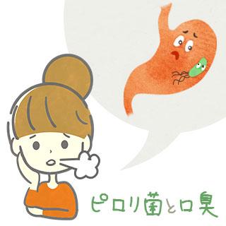 【ピロリ菌と口臭の関係】どんな臭い?検査・除菌は?