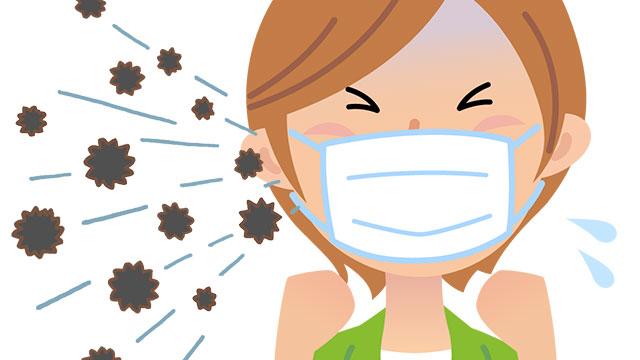 くしゃみが臭い原因!酸っぱい/シナモン臭が発生する理由