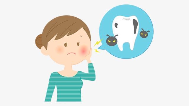親知らずの虫歯から口臭が発生!ニオイの原因と対処法