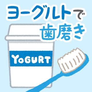 ヨーグルト歯磨きの効果と方法/デメリット/おすすめ商品